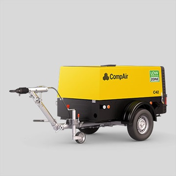C38 portable air compressor