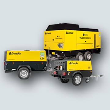portable air compressors range