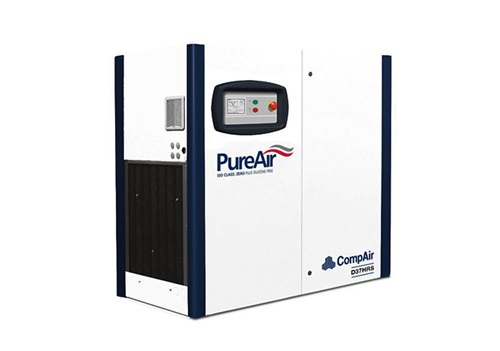 DH series oilfree screw air compressor (37 kW)